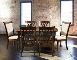 Amish Dining Room Set Amish Furniture Frisco Let The Lovely Dining Chairs Light Up Your