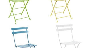 Folding Bistro Chairs The 10 Easy Pieces Outdoor Folding Chairs Remodelista Throughout