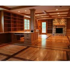 Enclosed Bookcases Complete Custom Library That Includes Both Open And Enclosed