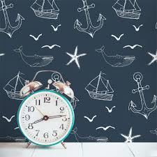 tileing halloween background nautical seas removable wallpaper tile