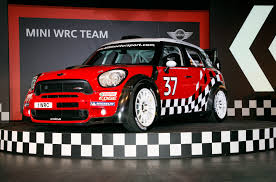 rally mini truck mini officially launches its wrc team car and driver blog