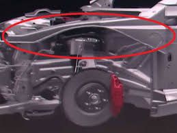 tesla model 3 chassis and alien dreadnought production line