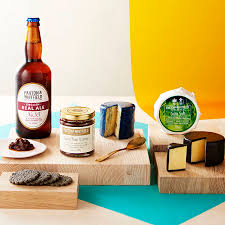 food gift sets cheese and ale gift set by paxton whitfield ltd