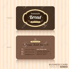 2 566 bakery business card stock vector illustration and royalty