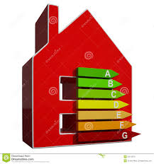 House Means Energy Efficiency Rating Icon Meaning Efficient House Royalty Free