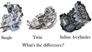 4 cylinder engine single vs vs inline 4 cylinder engine what is the difference