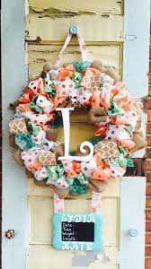 Welcome Home Baby Party Decorations by Best 20 Baby Wreaths Ideas On Pinterest Baby Shower