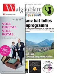 Esszimmer St Le F Schwergewichtige Walgaublatt 23 By Regionalzeitungs Gmbh Issuu