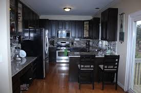 Restaining Kitchen Cabinets Darker Restaining Cabinets Refinished Wooden Cabinets White How Much