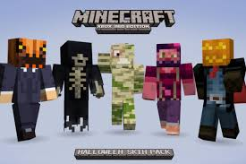 minecraft xbox 360 getting 55 halloween costume skins tomorrow