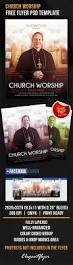 church worship u2013 free flyer psd template facebook cover u2013 by