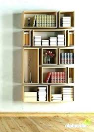 kitchen bookshelf ideas wall hanging bookshelf wiredmonk me