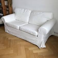 2er sofa weiãÿ ikea ektorp 2er sofa weiß in berlin steglitz ebay kleinanzeigen