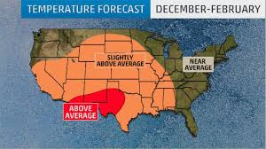 winter 2016 17 outlook weak la niña may bring colder temperatures