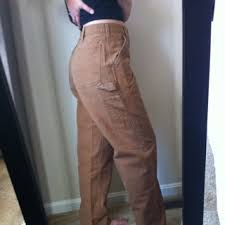 free nwot carhartt work pants khaki men 32x32 women 7 8 9 other