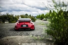 Nissan Nissan 350z Stance Stanceworks Stancenation Red Cars