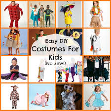 Costumes For Kids 16 Diy Easy Costumes For Kids No Sew