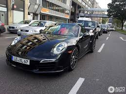 grey porsche 911 turbo new porsche 991 turbo s cabrio spotted on the road
