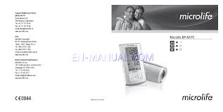 navigation manual for blood pressure monitor microlife bp a6 pc