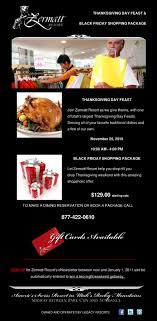 thanksgiving day feast black friday shopping package the