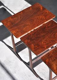 select modern erling torvits rosewood nesting tables