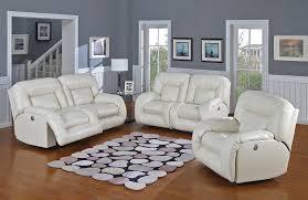 White Leather Recliner Sofa Marvelous White Leather Recliner Sofa White Leather Sofa 84112 At