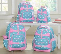 Pottery Barn Mackenzie Backpack Preppy Icon Totes For The Girls Summer Fun Pinterest Babies