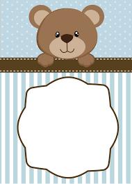create teddy bear baby shower invitations printable egreeting ecards