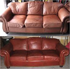 Leather Sofa Restoration Best Leather Restoration 77 On Sofa Room Ideas With Leather