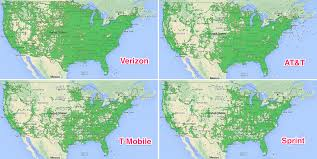 Verizon Canada Coverage Map by Cell Phone Coverage Map Comparison My Blog