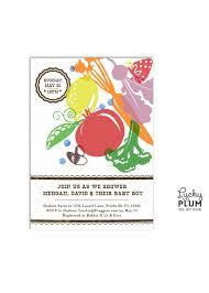 couples shower invitations etsy locally grown baby shower invitation farmer u0027s market