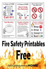 free fire safety posters with a lego theme fire safety safety