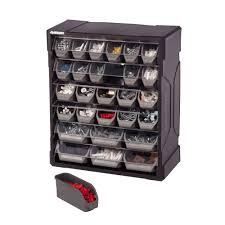 small cabinet with drawers husky 28 drawer small parts organizer 222169 the home depot