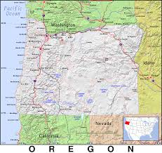 map of oregon or oregon domain maps by pat the free open source