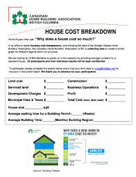 home construction cost breakdown to download in word u0026 pdf