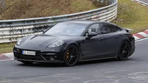 porsche panamera turbo 2017 black 2017 porsche panamera hits the nürburgring one more time