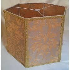 Yellow Floor Lamp Shade Floor Lamp Shade Fortuny Fabric Lucrezia Yellow U0026 Silvery Gold