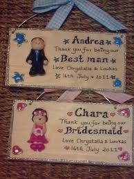 thank you wedding gifts personalised pageboy ringbearer bestman thank you unique