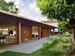 tropical home design for minimalist wooden house 4 home ideas