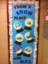 classroom door decoration ideas for winter