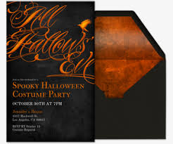 online halloween costume party invitations evite com