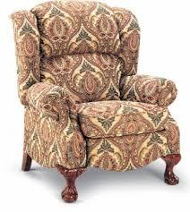 High Leg Recliner Buchanan High Leg Recliner Brown S Furniture Showplace