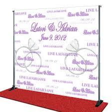wedding backdrop personalized custom wedding backdrops wedding idea womantowomangyn