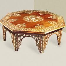 yellow wood coffee table moroccan yellow tray coffee tea table vintage moroccan wood coffee