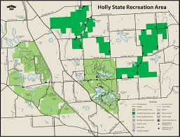 Michigan Wineries Map by Holly State Recreation Areamaps U0026 Area Guide Shoreline Visitors