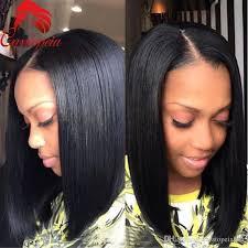 black hair 27 piece with sidebob bob short human hair u part wig peruvian virgin hair u shape bob