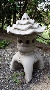 onefold pagoda cast garden ornament japanese koi