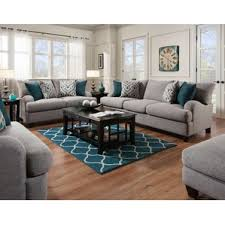 Cottage  Country Living Room Sets Youll Love Wayfair - Gray living room sets