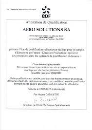 edf si e social adresse aero solutions eine andere site