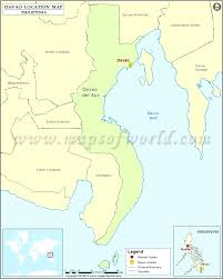 Philippine Blank Map Quiz by Where Is Davao Location Of Davao In Philippines Map